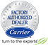 Carrier Residential Factory Authorized Dealer